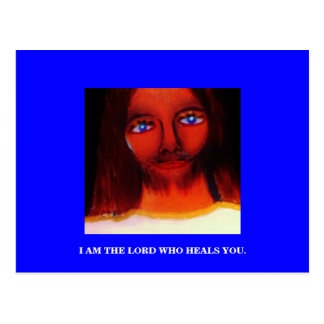I AM THE LORD POSTCARD