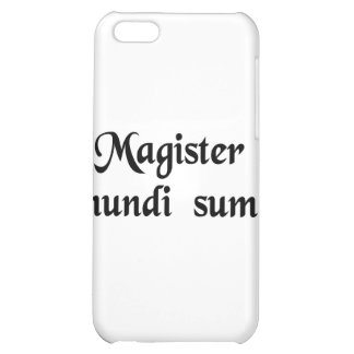 I am the master of the universe! iPhone 5C case