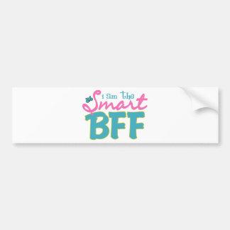 I am the Smart BFF Bumper Sticker