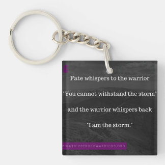 I am the Storm keychain