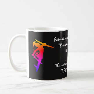 """I am the Storm"" Quote & Female Warriors Coffee Mug"