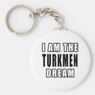 I am the Turkmen Dream Keychain