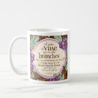 I Am the Vine Scripture Mug