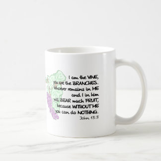 I am the vine, you are the branches... Mug