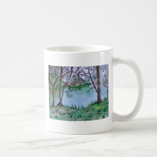 I am the vine; you are the branches classic white coffee mug