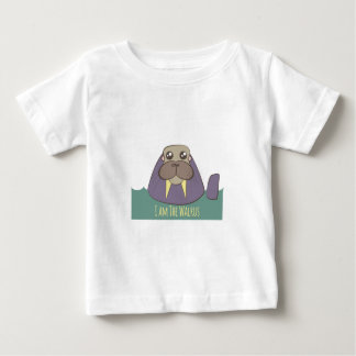 I Am The Walrus Baby T-Shirt