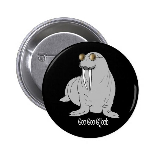 I am the Walrus Pinback Button