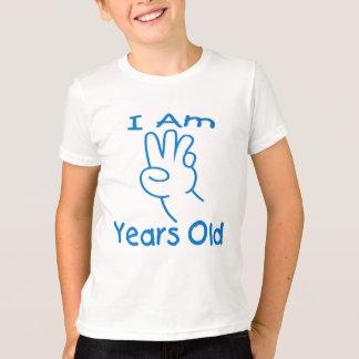 I am three T-shirt