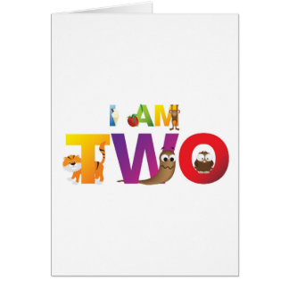 i am two card