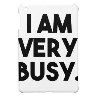 I Am Very Busy iPad Mini Covers