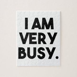 I Am Very Busy Jigsaw Puzzle