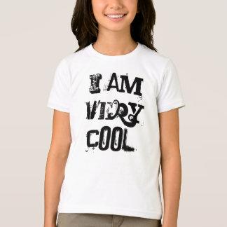 I Am Very Cool Girls Basic American Apparel TShirt