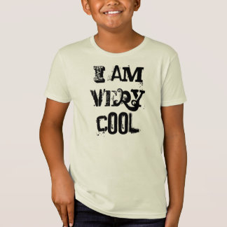 I Am Very Cool Kid American Apparel Organic TShirt