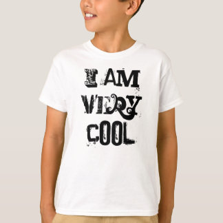 I Am Very Cool Kids Basic Hanes Tagless T-Shirt