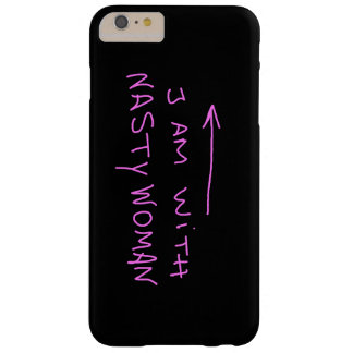 I am with nasty woman Iphone case