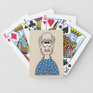 I am with the retirement… bicycle playing cards