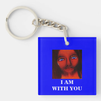 I AM WITH YOU KEY RING