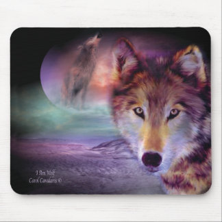 I Am Wolf Mousepad