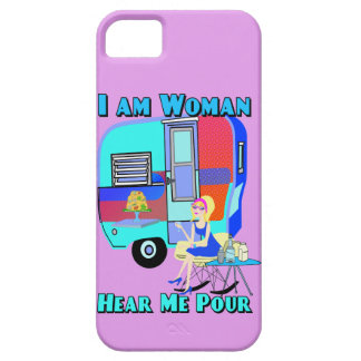 I am Woman Hear Me Pour Barely There iPhone 5 Case