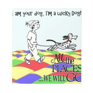 I am your dog C&BMINEpurple Notepads