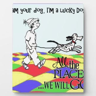 I am your dog C&BMINEpurple Plaque