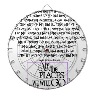 I am your dog FNL BACK purple copy Dartboard