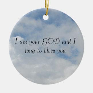 I am your GOD Ornament