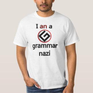 I an a grammar nazi tshirt