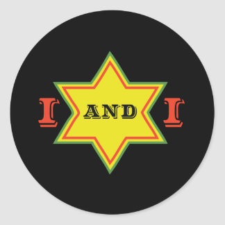 I and I Classic Round Sticker