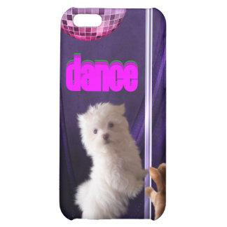 i Animal Fun Cat Dog Dance Disco Cover For iPhone 5C