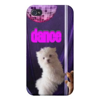 i Animal Fun Cat Dog Dance Disco iPhone 4 Covers