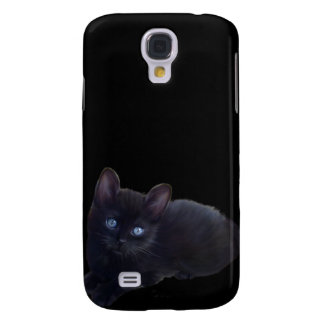 i Animals Black Cat Samsung Galaxy S4 Case