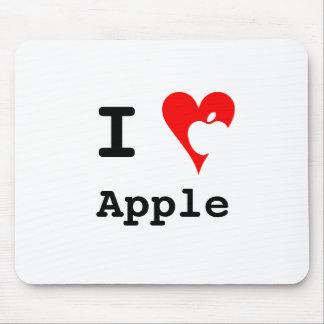 """""""I ♥ Apple"""" Mousepad"""