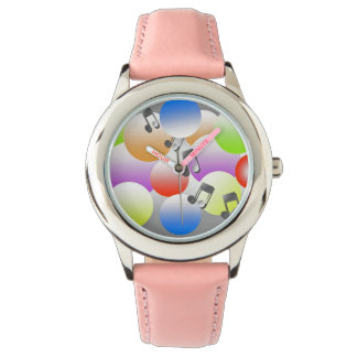 i ART AND DESIGN, Bubbles Girl's Watch