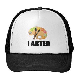 I arted cap