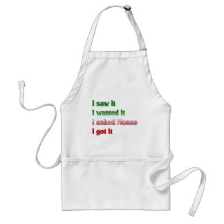 I Asked Nonno Aprons
