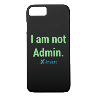 I at emergency the Admin. iPhone 8/7 Case