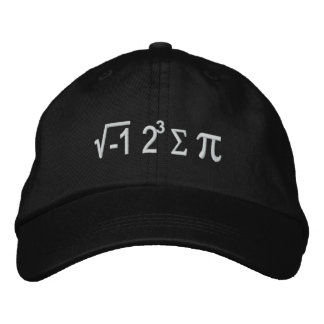I Ate Some Pie And It Was Delicious Embroidered Hats