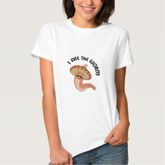 I ATE THE WORM TEES