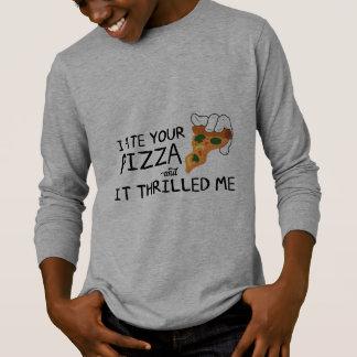 """I Ate Your Pizza"" Basic Long Sleeve Shirt"