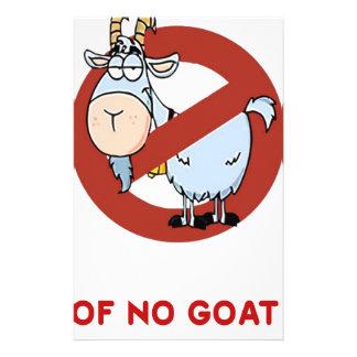 I aunt no goat funny stationery