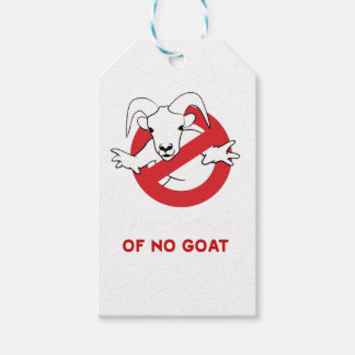 I aunt no goat gift tags