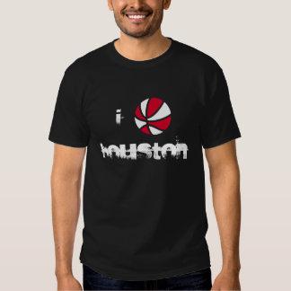 I b-ball Houston T-shirts
