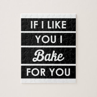 I Bake For You Jigsaw Puzzle