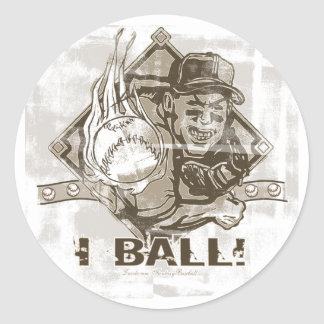 I Ball Sticker