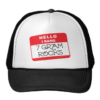 I Bang 7 Gram Rocks Mesh Hat