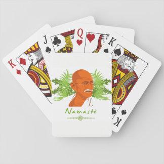 I baralho Gandhi Poker Deck