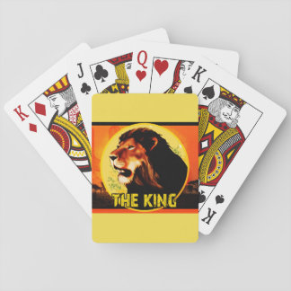 I baralho The King Poker Deck