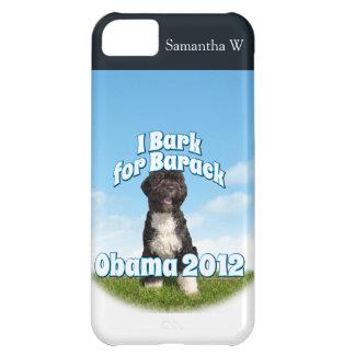 I Bark for Barack, Bo the First Dog Obama iPhone 5C Case