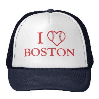 I baseball heart Boston Cap